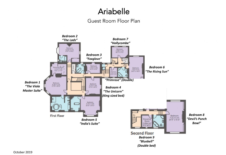 Floor plan of Ariabelle