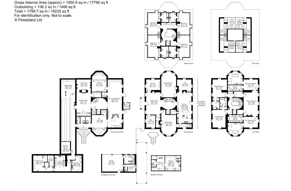 Floor plan of Cornucopia