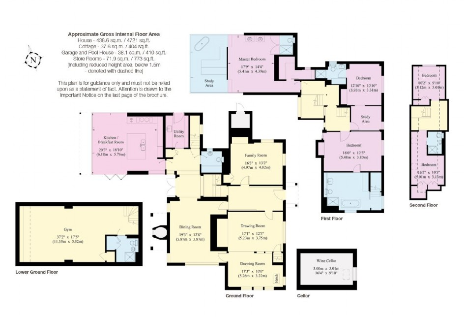 Floor plan of Ever After