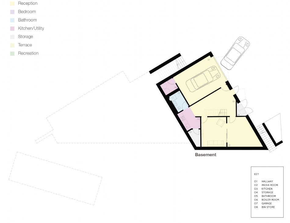 Floor plan of Linea