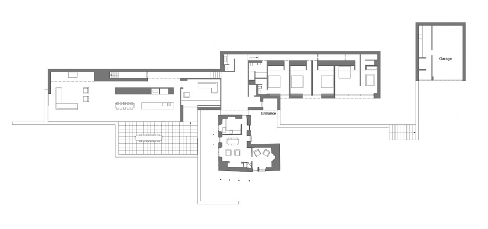 Floor plan of The Find